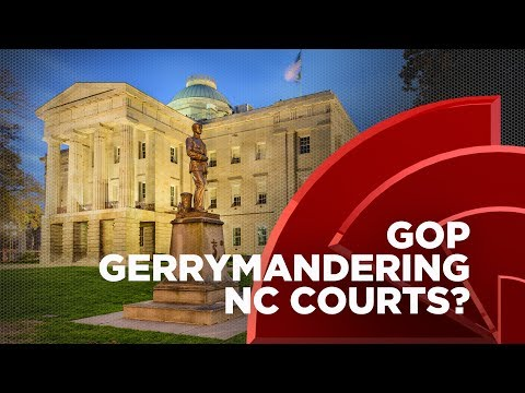 North Carolina Republicans Attempt To Rig The State's Judicial System