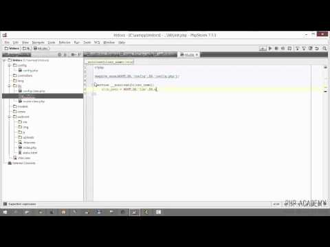 PHP MVC Tutorial for beginners. Lecture 4 of 16