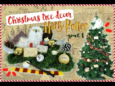 HARRY POTTER Christmas tree decor | Part 1 | CHRISTMAS DIY