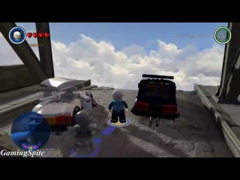 Lego Marvel's Avengers - Sokovia Hub Area -Free Roam Gameplay Showcase with Quicksilver