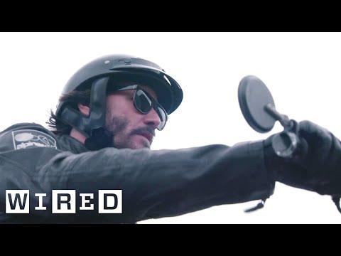 Inside Keanu Reeves' Custom Motorcycle Shop   WIRED