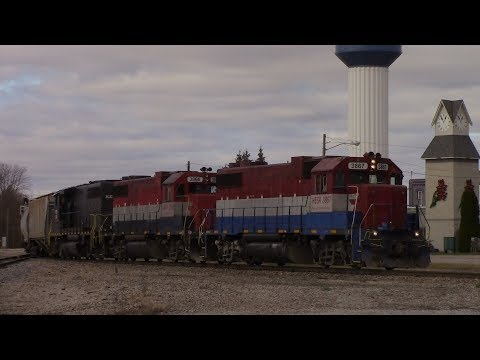 Trains in Michigan during Thanksgiving 2017! 11-22-17