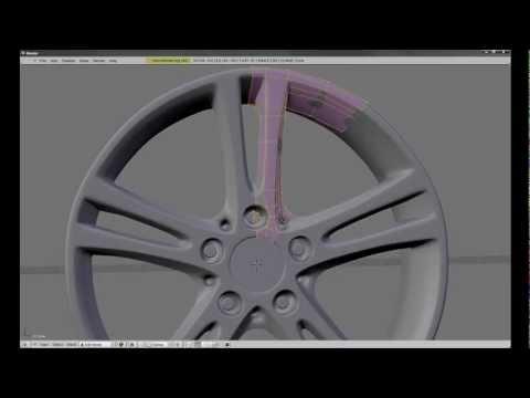 How to Make Car Rims using Blender