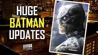THE BATMAN 2021 UPDATES: Batsuit & Batmobile Details, Gotham & Bruce Wayne Look, Penguin + Riddler