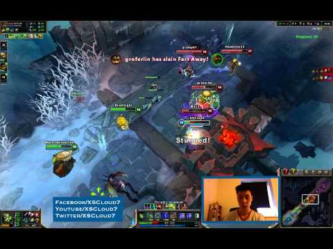 XSCloud7 Gameplay #1 (League of Legends