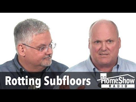 Will VCT tiles really make my subfloors rot?