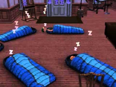 Sim in sleeping bag glitch