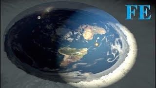 Around the world on a Flat Earth - DITRH mirror! ✅
