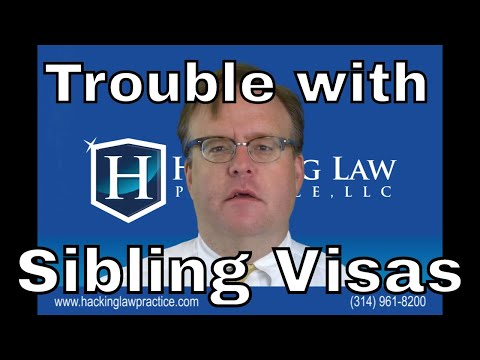 The trouble with brother and sister visas