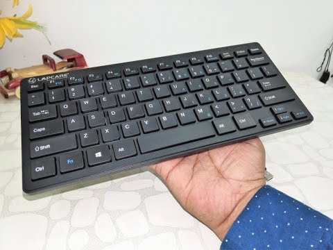 Budget Mini Keyboard for Laptop & Tablet (Lapcare D Lite) Unboxing & Testing
