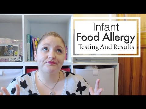 Infant Food Allergy: Test and Results
