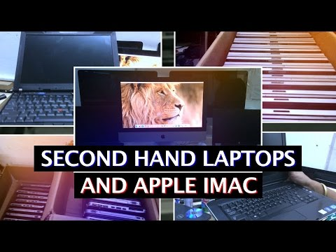 SECOND HAND LAPTOP | USED IMAC | DELL | HP | LENOVO | APPLE
