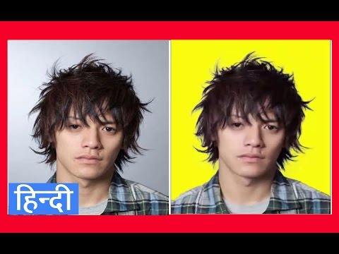 how to cut out hair in photoshop | smoothly | cutting hair totorial | advance hair cutting | Hindi |