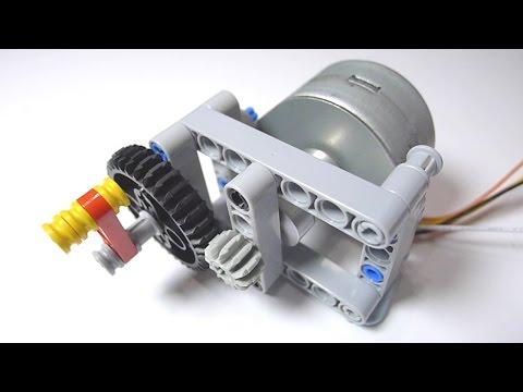 LEGO Stepper Motor DIY Part 1: Make a LEGO Technic Bracket