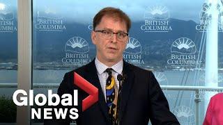 Coronavirus outbreak: B.C. health officials provide COVID-19 update on 6 new cases
