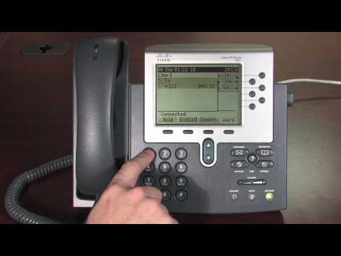 Cisco 7900 series Phone Tutorial, Chapter 3A: Voicemail Setup