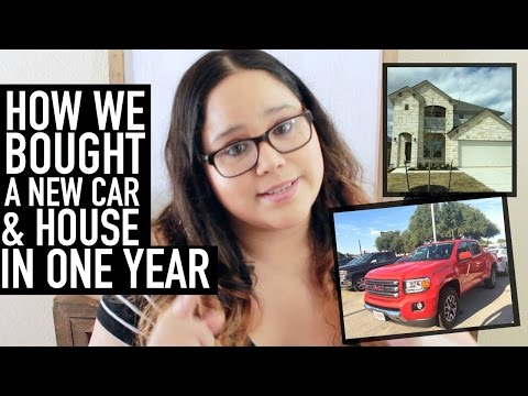 HOW WE BOUGHT A NEW CAR + HOUSE IN ONE YEAR | Budget + Finance Tips