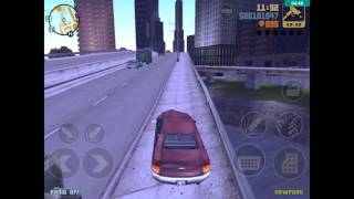 How to get to the 2nd and 3rd island and get to the airport and fly a plane in Android  (gta 3)