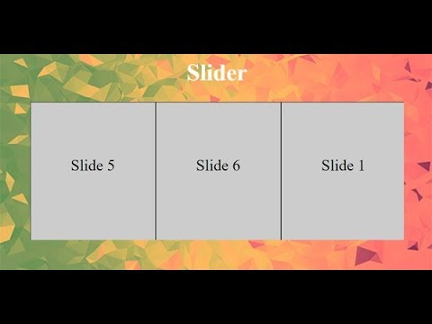 Autoplay Image Slider In Css, Autoplay Product Slider In Css