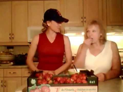 How to Macerate Strawberries: Made in Niagara with Kimberly