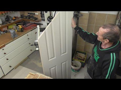Adjusting a Molded Panel Hollow Door