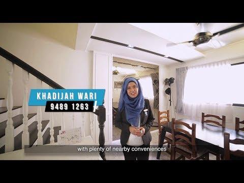 Singapore HDB Property Listing Video - Hougang Executive Maisonette