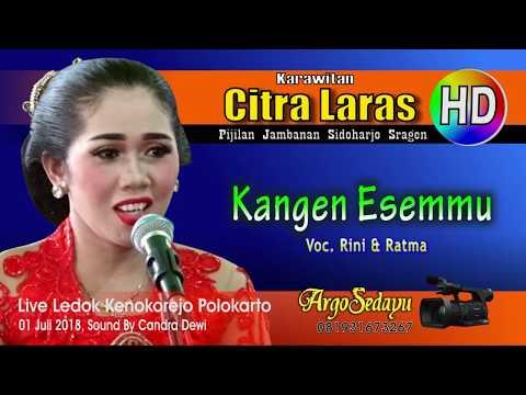 Lirik Lagu KANGEN ESEMMU (Duet) Sragenan Karawitan Campursari - AnekaNews.net
