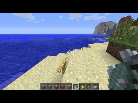 Minecraft - How To Tame Ocelot  (Easy) HD
