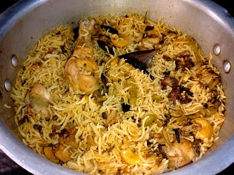 Chicken Biryani in Pressure Cooker
