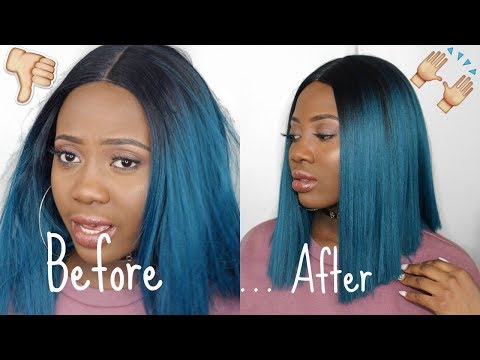 YARA WIG   4 MONTHS UPDATE & HOW TO REVIVE SYNTHETIC WIG    Bobbi Boss