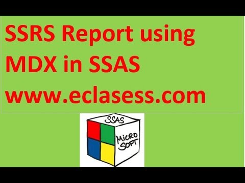 Creating SSRS reports with MDX quieres From SSAS CUBE