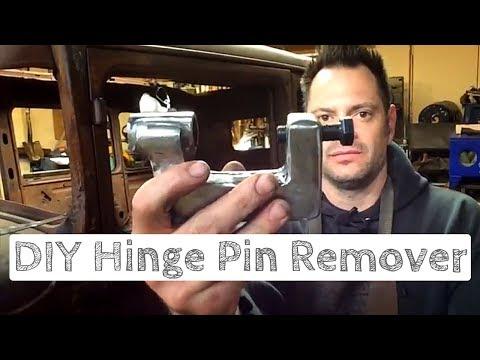 DIY Hinge Pin Removal Tool! - 1929 Dodge Ep. 2