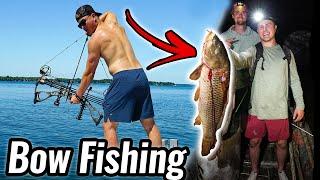 Bow Fishing for Huge Carp!!!