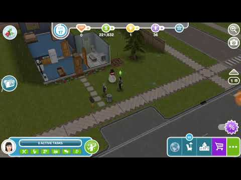 Visit an infant's home - the Sims freeplay 😸
