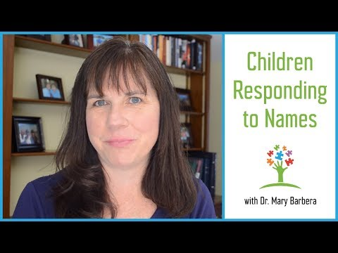 How to Teach Children with Autism to Respond to Their Names