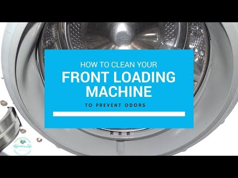 How to Clean Your Front Loading Washing Machine to Prevent Odors | Home Tips