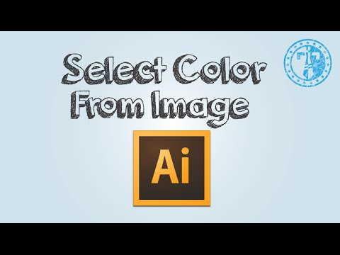 How to select color from image in Adobe Illustrator