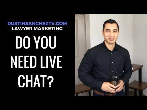 Does Live-Chat Work on Lawyer Websites? - DustinSanchezTV.com