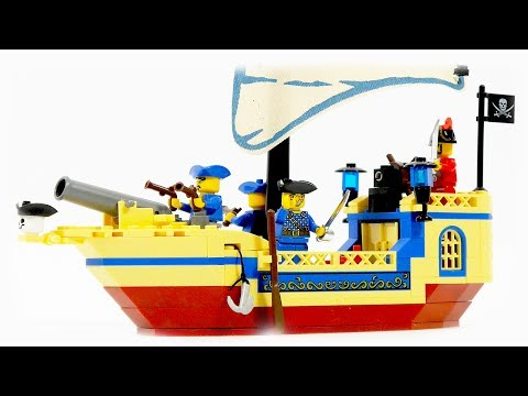 Enlighten Brick 304 pirate ship Pearl - Speed Build