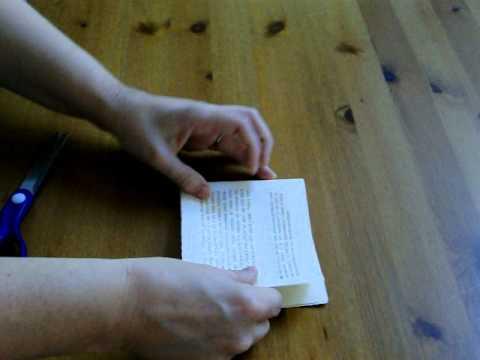 Folding an Excerpt Booklet