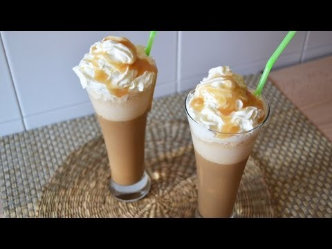 Starbucks Caramel Frappuccino - How to Make a Homemade Frappuccino