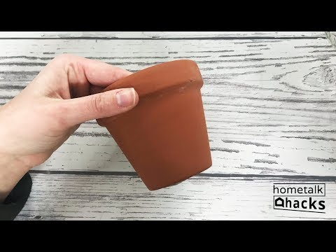 Hometalk Hacks: DIY Ideas with Cheap Terra Cotta Pots From Walmart