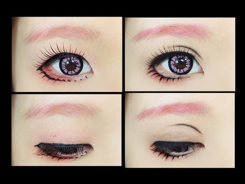 How To : Makeup Fix 5 - Female Anime Eye