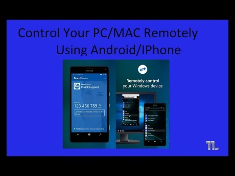 Control PC/MAC Remotely From Android/iPhone