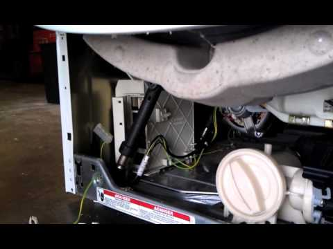 How to Remove a Motor Control Unit (MCU) From Whirlpool Duet, Kenmore HE3, KitchenAid, & Maytag