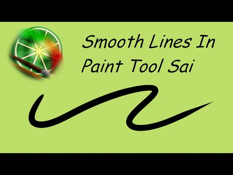 Smooth Lines In Paint Tool Sai - Tutorial