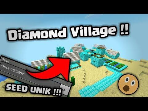 SEED UNIK! DIAMOND VILLAGE !!   MINECRAFT 1.2