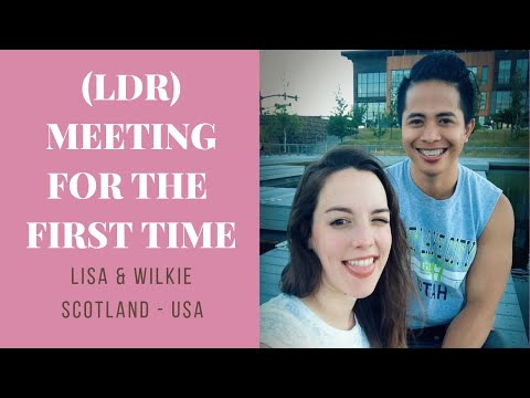 Meeting my boyfriend for the first time | Long Distance Relationship | Scotland to USA