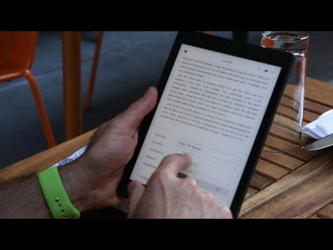 Kobo Aura One: The waterproof e-reader that's as big as an iPad