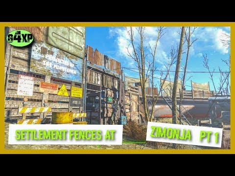Settlement Fence Ideas - Part 1- Building in Fallout 4